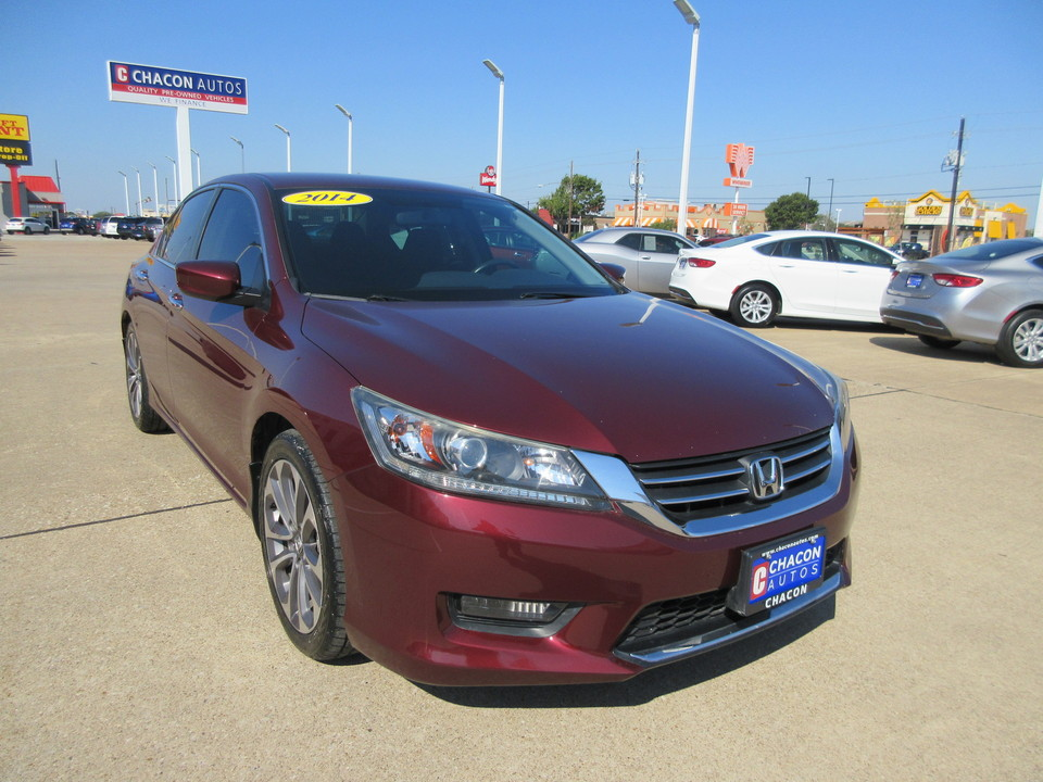 2014 Honda Accord Sport For Sale >> Used 2014 Honda Accord For Sale G107532 Chacon Autos