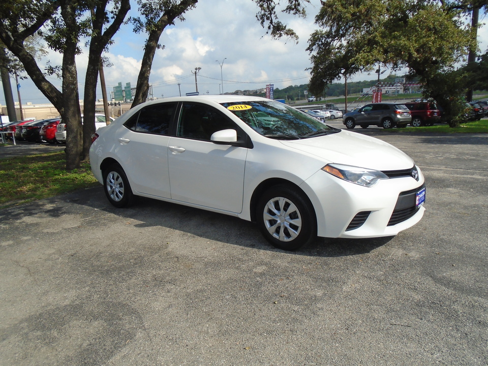 Used 2014 Toyota Corolla For Sale J150402 Chacon Autos