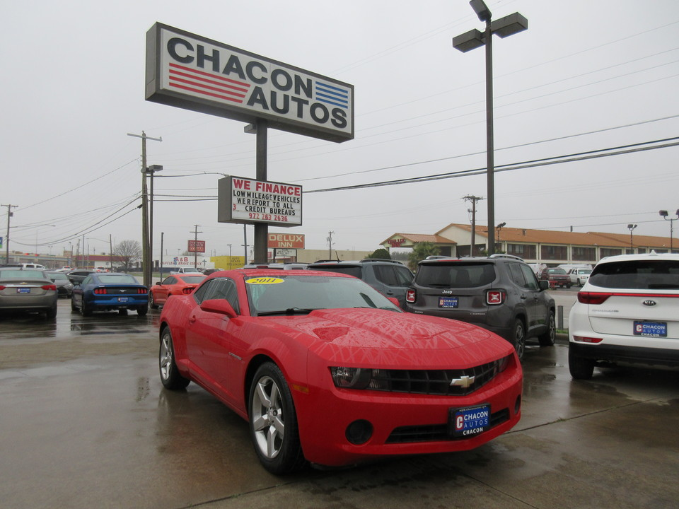 Used 2011 Chevrolet Camaro For Sale W161349 Chacon Autos
