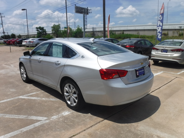 Used 2018 Chevrolet Impala For Sale A166565 Chacon Autos