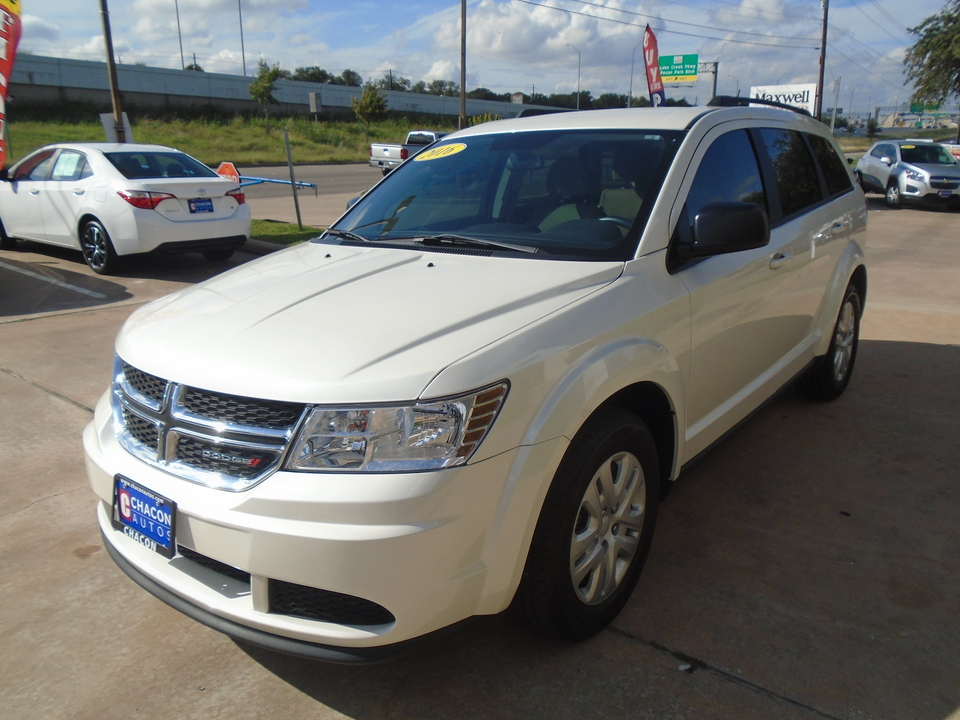 Used 2016 Dodge Journey Se For Sale Chacon Autos
