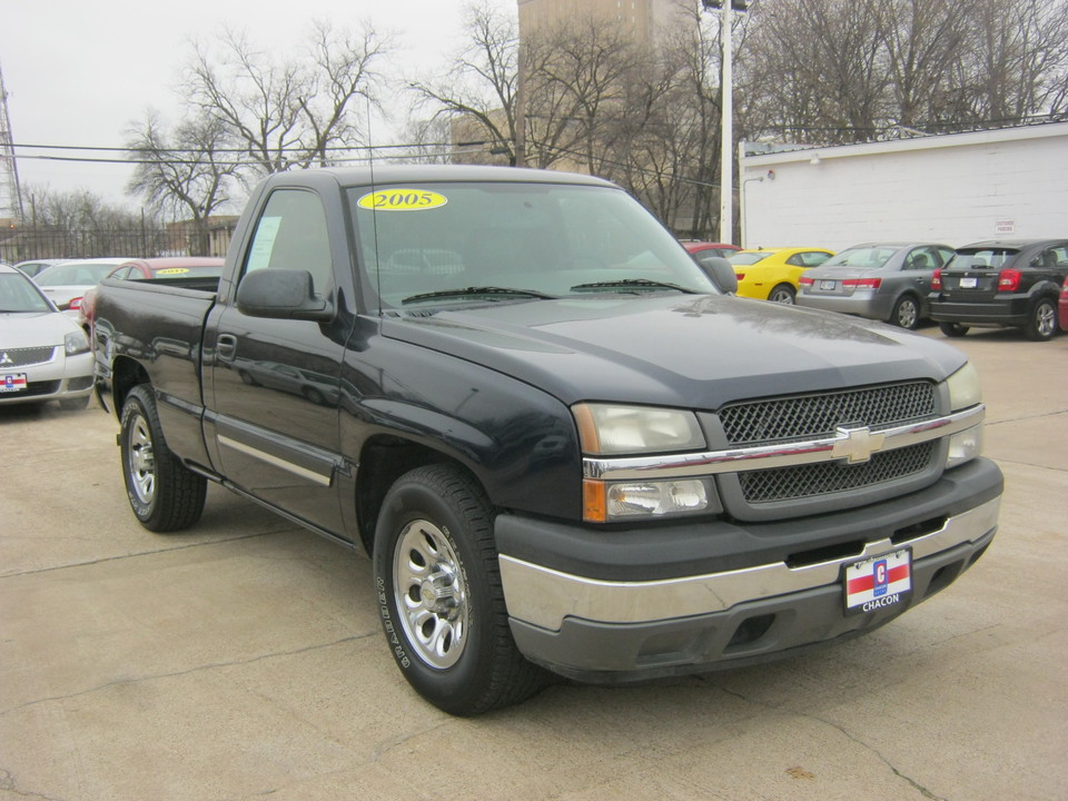 Used 2005 Chevrolet Silverado 1500 Ls Short Bed 2wd For Sale