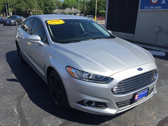 Bad Credit No Credit Car Dealerships >> Used 2016 Ford Fusion for Sale (T404107) - Chacon Autos