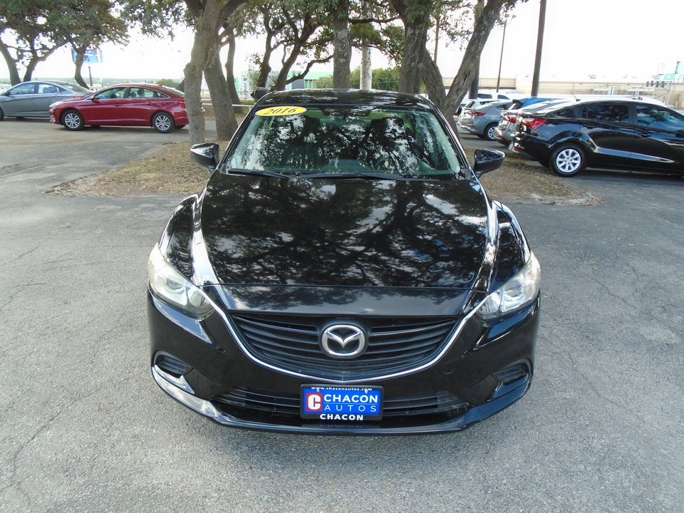 Used 2016 Mazda Mazda6 I Sport At For Sale Chacon Autos