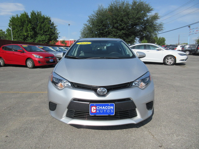 used 2016 toyota corolla for sale g445822 chacon autos. Black Bedroom Furniture Sets. Home Design Ideas