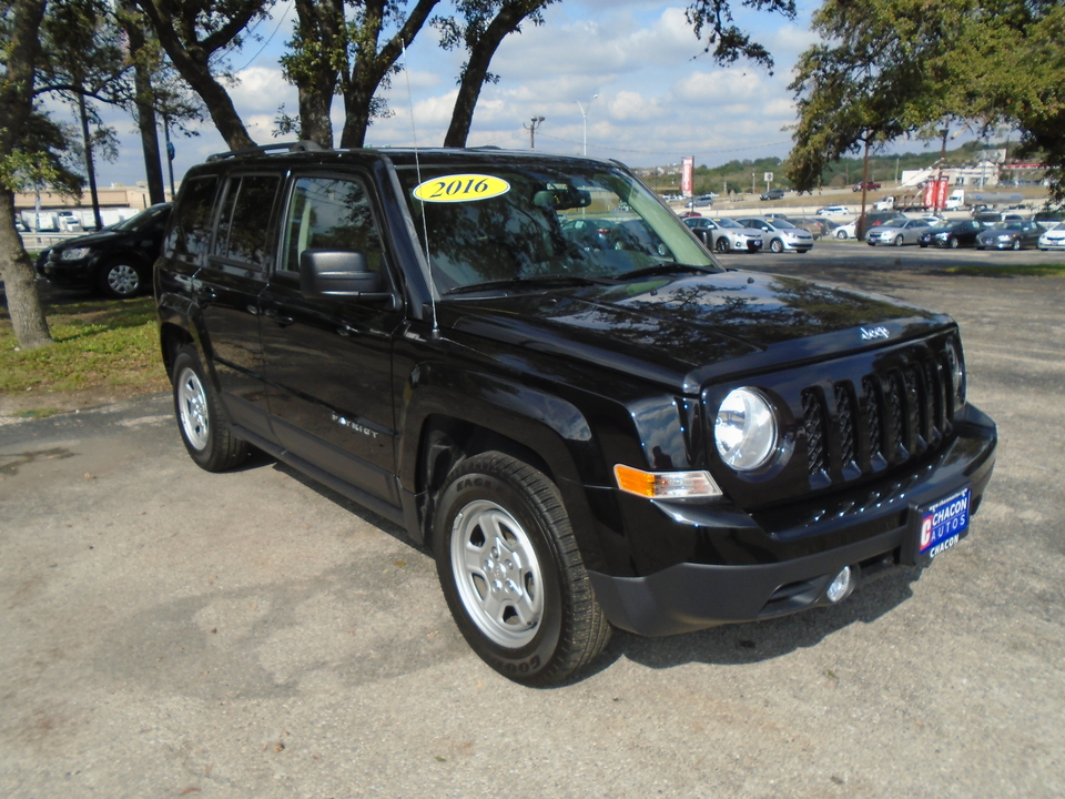 Used 2016 Jeep Patriot Sport 2wd For Sale Chacon Autos