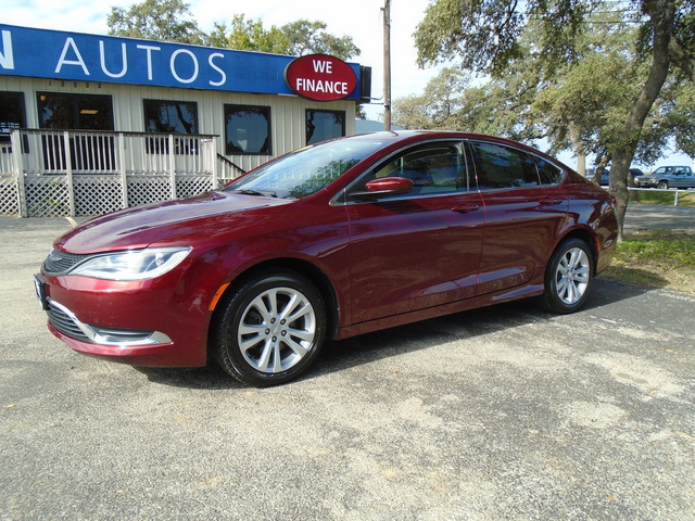 Used 2015 Chrysler 200 For Sale S655736 Chacon Autos