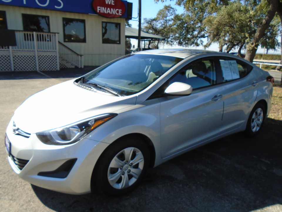 Used 2016 Hyundai Elantra Se 6at For Sale Chacon Autos