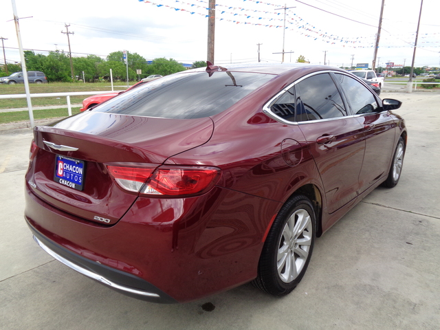 Used 2015 Chrysler 200 For Sale A735584 Chacon Autos
