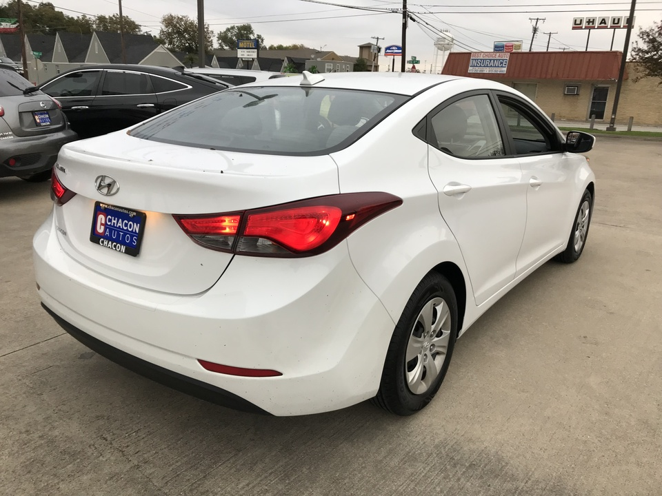 2016 Hyundai Elantra Sport 6AT