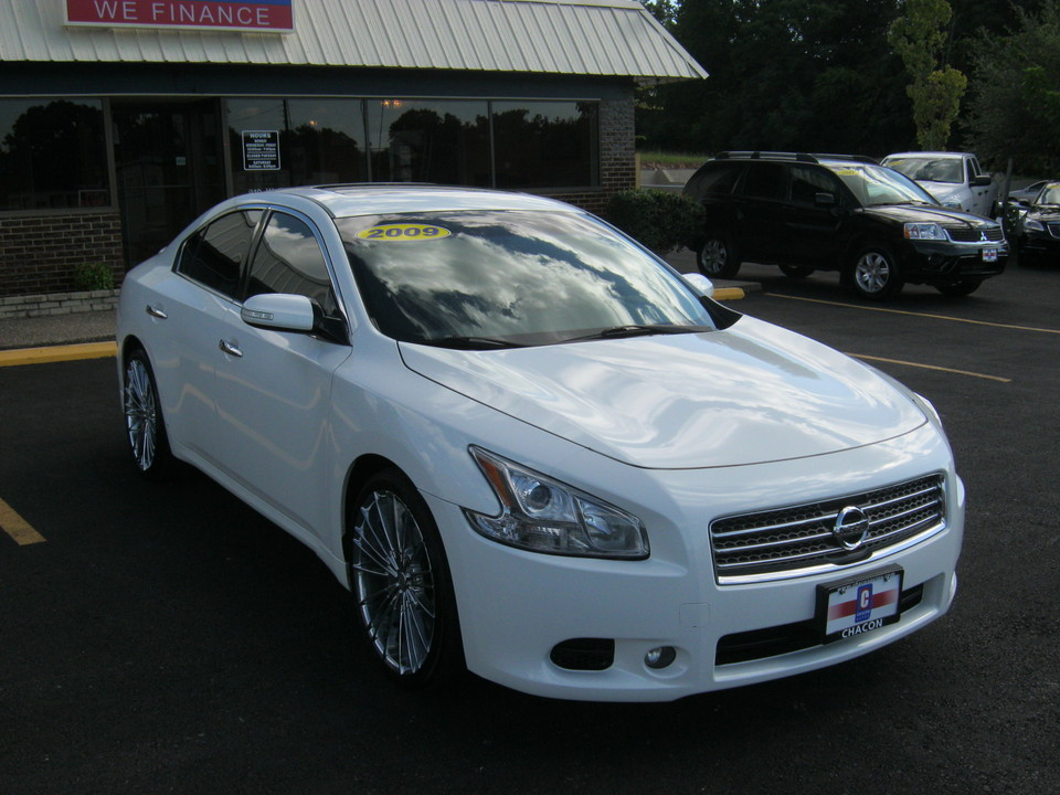 2009 Nissan Maxima For Sale >> Used 2009 Nissan Maxima For Sale F828434 Chacon Autos