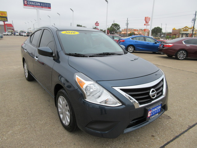 used 2016 nissan versa for sale d917114 chacon autos. Black Bedroom Furniture Sets. Home Design Ideas
