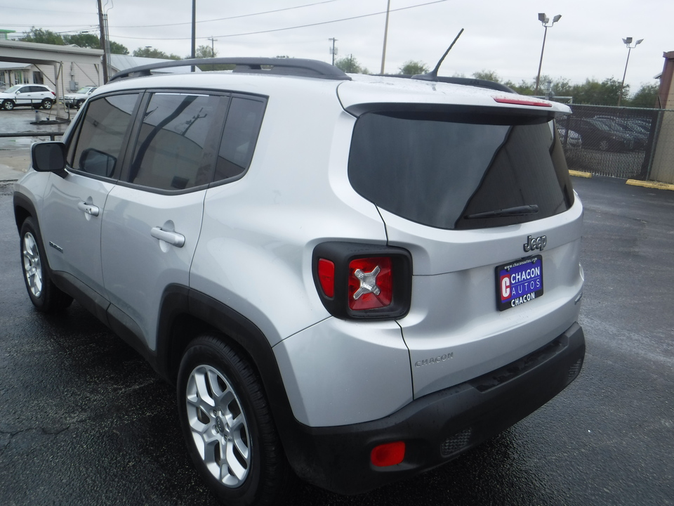 Used 2016 Jeep Renegade Latitude Fwd For Sale Chacon Autos