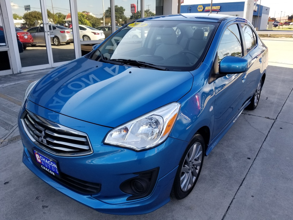 Used 2019 Mitsubishi Mirage G4 Es Cvt For Sale Chacon Autos